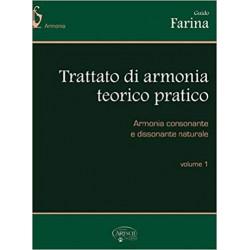 Trattato di Armonia teorico pratico Vol.1 di Guido Farina - Ed. CARISH