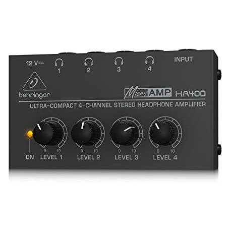Amplificatore per cuffie BEHRINGER HA400