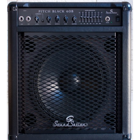 Amplificatore SOUNSATION BASS AMP PITCH BLACK 60B