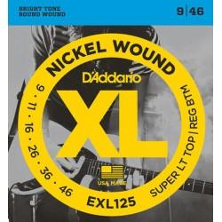 3 set Daddario EXL125 - 009/046