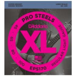 Set Corde Basso DADDARIO EPS170 - 045/100 PRO Steel