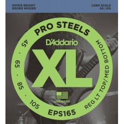 Set Corde Basso DADDARIO EPS165 - 045/105 PRO Steel