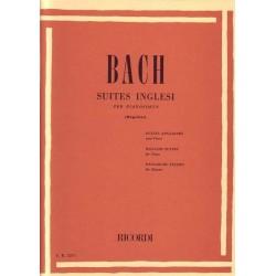 BACH Suite inglesi - Ed. Ricordi