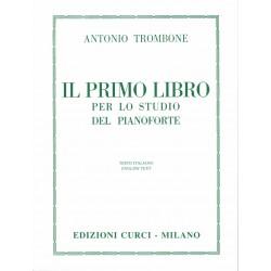 A. Trombone - Primo libro studio del pianoforte - Ed. CURCI