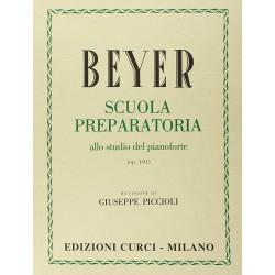 Beyer - Scuola preparatoria del pianoforte - Ed. CURCI