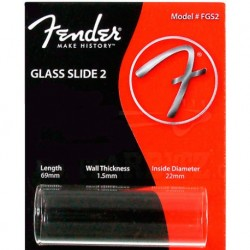 Fender FGS2 Glass Slide larghezza 69mm
