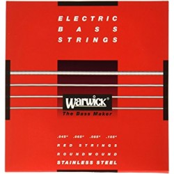 Corde per basso WARWICK 045/105 Stainless Steel