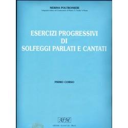 Esercizi progressivi di Solfeggi Parlati e Cantati Primo Corso - N. POLTRONIERI - Ed. SEDAM