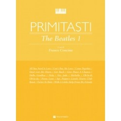 Primi tasti The Beatles Vol.1 di Franco Concina - Ed. VOLONTE'