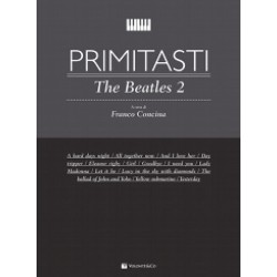 Primi tasti The Beatles Vol.2 di Franco Concina - Ed. VOLONTE'