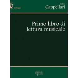 Primo libro di lettura musicale di Andrea Cappellari - Ed. CARISCH