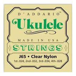 Set corde per ukulele soprano DADDARIO J65