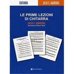 LE PRIME LEZIONI DI CHITARRA - Julio Sagreras Ed. VOLONTE'