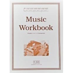 Quaderno pentagrammato di musica Ed. SEDAM